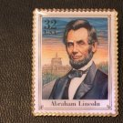 Abraham Lincoln (Civil War) stamp pin lapel pins 2975j S