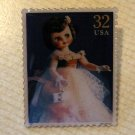 Doll Betsy McCall Doll Stamp pin lapel pins hat 3151L S