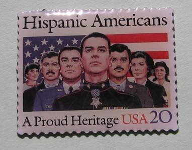 Hispanic Americans Stamp Pin lapel pins hat new 2103 s