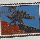 Stegosaurus Dinosaur stamp pin hat lapel pins 2424 S