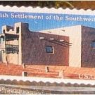 Spanish Settlement Southwest Stamp pin hat Adobe 3220 s