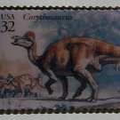 Corythosaurus Dinosaur stamp pin lapel pins hat 3136m S