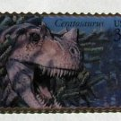 Ceratosaurus Dinosaur stamp pin lapel pins hat 3136A S