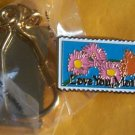 Love You, Mother Day Stamp keychain cloisonne 2273kc s