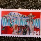 Washington Greetings Stamp Pin lapel pins tie tac 3742 S