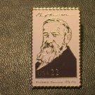 Benjamin Harrison lapel pins stamp pin tie tac 2218e S