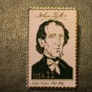 John Tyler lapel pins stamp pin tie tac hat 2217a S
