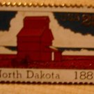 North Dakota Stamp Pin collectible lapel pins 2403 S