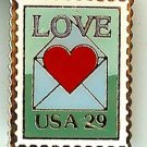 Love Letter 1992 Stamp magnet 2618mg