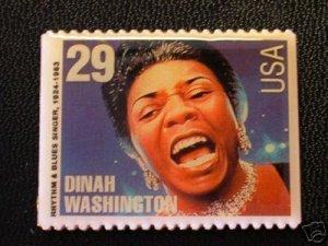 Dinah Washington stamp magnet Black History 2730mg