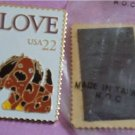Love Puppy Stamp Magnet new 2202mg S