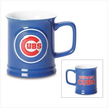 MLB CUBS SCULPTED MUG