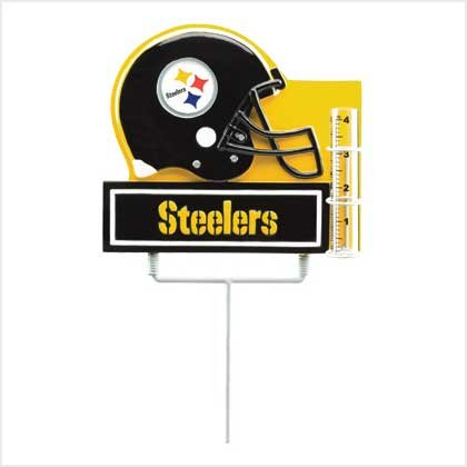 PITTSBURGH STEELERS RAIN GAUGE