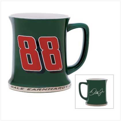 NASCAR #88 GREEN FAN MUG