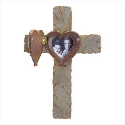 Cross Photo Frame
