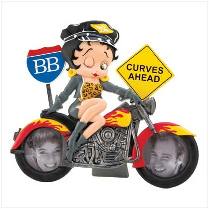 BETTY BOOP MOTORCYCLE FRAME