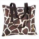 GIRAFFE SHOULDER TOTE
