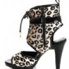 2011 new women's horsehair high heels sandal.