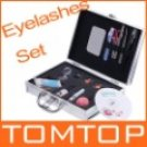 Eye Lash False Eyelashes Extension Kit Full Set Case.