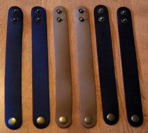 6 Mix Leather Cuff Bracelet Men Women  Blank Custom