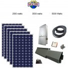 Solar Panel Kit in a Box  2500 watts grid- tied