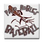 PASO ROBLES BASEBALL {14}  tile coasters