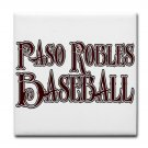 PASO ROBLES BASEBALL {15}  tile coasters
