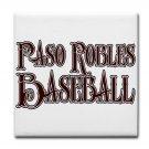 PASO ROBLES BASEBALL {15}  tile coasters