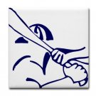 BATTER UP {1}  tile coasters