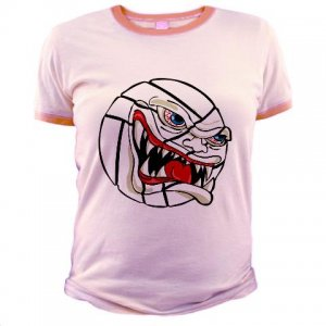 VICIOUS VOLLEYBALL | jr ringer tee