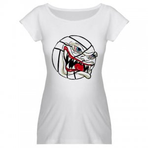 VICIOUS VOLLEYBALL | women's maternity tee