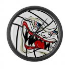 VICIOUS VOLLEYBALL | large wall clock