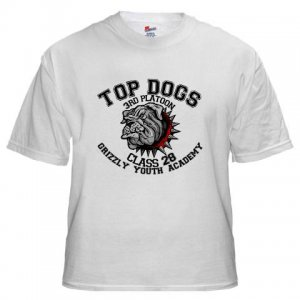 TOP DOGS [4] | white tee