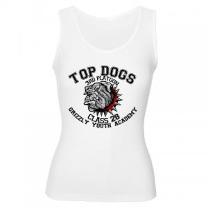 TOP DOGS [4] | women's tank top -XXL - XXXL