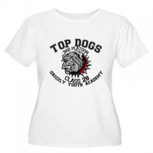 TOP DOGS [4] | women's plus size scoop neck tee