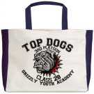 TOP DOGS [4]  beach tote bag
