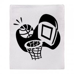 BASKETBALL [21] | stadium blanket