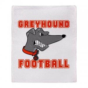 GREYHOUND FOOTBALL [6] | stadium blanket