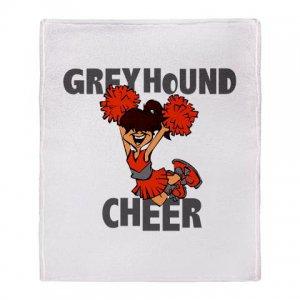 GREYHOUND CHEER [5] | stadium blanket