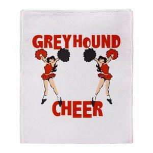GREYHOUND CHEER [4] | stadium blanket
