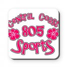 805 SPORTS LOGO [hibiscus 1] | square or round coaster