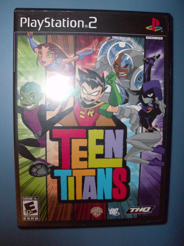 Teen Titans Playstation 11