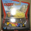 Disney Pixar Cars 2 Jeff Gorvette #24 Diecast Car 1:55 Scale