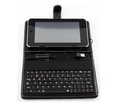 7 inch tablet pc New leather case keyboard bracket touch pen for apad