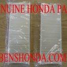 2X 98-02 GENUINE HONDA ACCORD CABIN AC POLLEN FILTER