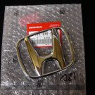 NEW GENUINE HONDA S2000 FRONT H EMBLEM 00-03 CHROME 01