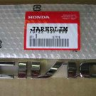NEW GENUINE HONDA CIVIC REAR CHROME EMBLEM 01-05 03 4DR