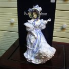 Royal Doulton lady figurine - Forget-me-nots HN3700 Signed