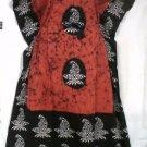 African Batik Tie dye Caftan Dress Kaftan Lounger Gown