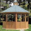 Garden Screen Gazebo Project Plans, Design #10112